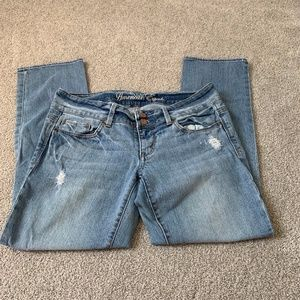 American Eagle Cropped Jeans Size 6